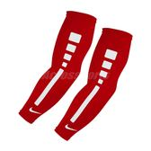 Nike 臂套 Pro Elite 男女款 袖套 菁英 籃球 跑步 運動 訓練 遮陽 紅 【PUMP306】 AC4088-686