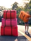 搬家神器收納袋子帆布手提蛇皮編織打包行李袋超大容量麻袋特大號 樂活生活館