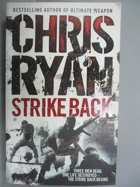 【書寶二手書T2/原文小說_IMN】Strike Back_Chris Ryan