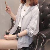 防曬衫-防曬衣女夏季新款女士短款學生外套春夏時尚休閒寬鬆連帽開衫 Korea時尚記