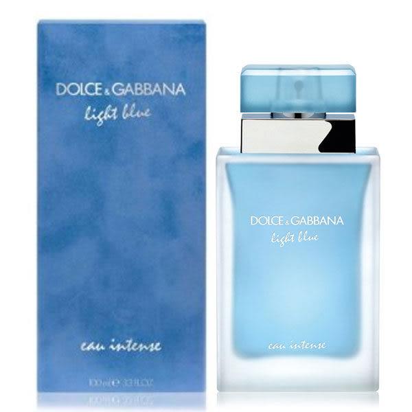 Dolce&Gabbana D&G Light Blue Intense 淺藍女性淡香精 25ml《Belle倍莉小舖》