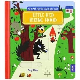 【童話故事操作書】 LITTLE RED RIDING HOOD  /英國推拉書 《小紅帽》