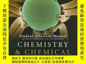 二手書博民逛書店Student罕見Solutions Manual For Chemistry And Chemical Reac