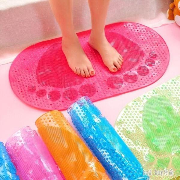 大號浴室防滑墊淋浴洗澡沖涼隔水腳墊衛生間廁所吸盤防滑墊子地墊 rj2739【bad boy時尚】