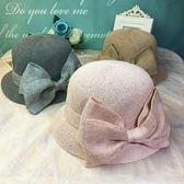 棉漁夫帽女款帽子女新款夏季韓版小禮帽