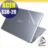 【Ezstick】ACER S30-20 二代透氣機身保護貼(含上蓋貼、鍵盤週圍貼、底部貼)DIY 包膜