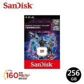 【SanDisk】Extreme microSDXC UHS-I (V30)(A2) 256GB 電玩記憶卡