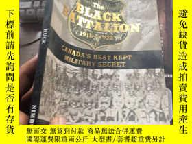 二手書博民逛書店THE罕見BLACK BATTALION RUCK13209 T