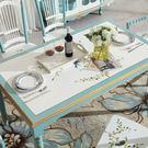 餐桌 美式鄉村餐桌椅組合現代簡約6人餐桌小戶型飯桌長方形地中海家具JD 限時搶購