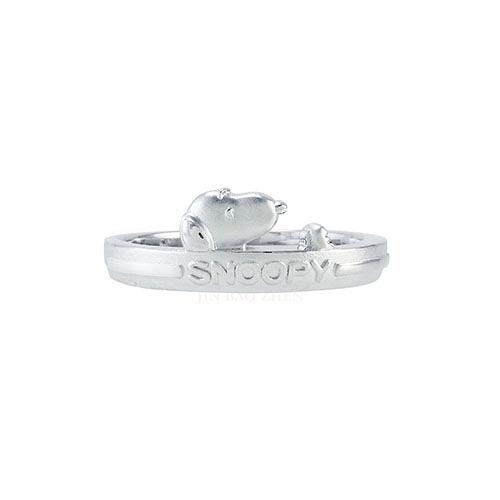 史努比SNOOPY-偷閒小時光-純銀戒指