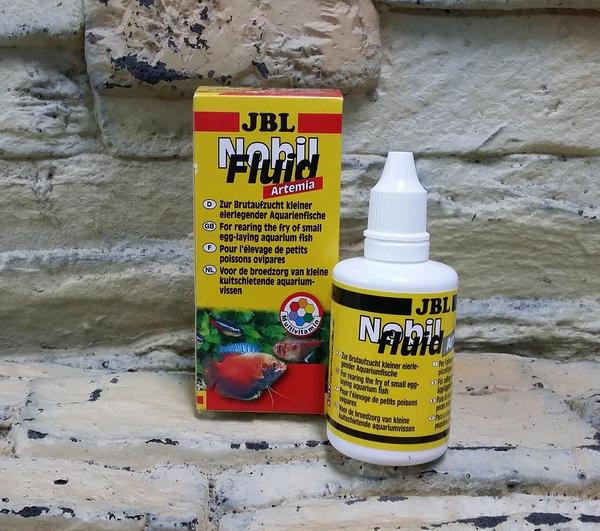 【西高地水族坊】JBL Nobil Fluid幼仔魚維他命液體食物(50ml)