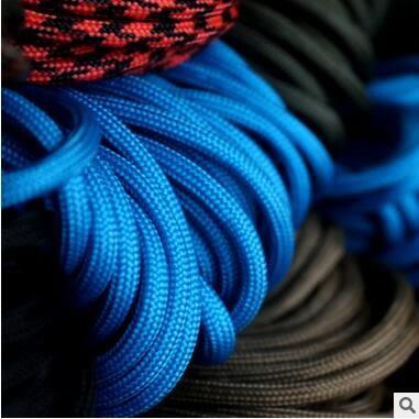 【黑色星期五】軍規7芯傘繩登山應急求生捆綁編織手錬繩