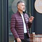 秋冬款男士中年人立領棉衣4050歲爸爸裝外套男裝上衣冬季棉服厚款 布衣潮人