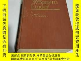 二手書博民逛書店The罕見synonym finder:英語同義詞詞典(英文)書皮開裂Y212829