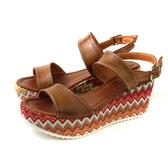 CINZIA SOFT 涼鞋 義大利製 厚底 棕色 民族風 女鞋 PZ14591-F 004 no040