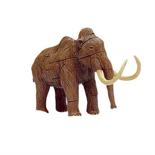【4D Master】20129C 立體拼組模型 冰河動物系列 長毛象 Wooly Mammoth