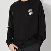 Nike AS M NSW FT Crw Wtour 男 黑 勾勾 運動 休閒 長袖 DD0883-010