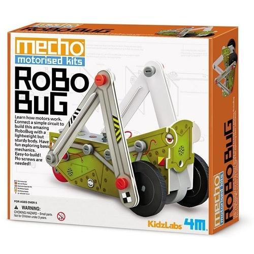《4M科學探索》 Mecho Motorised Kit - Robo Bug 小小工程師 - 彈跳蹦蹦車  ╭★ JOYBUS玩具百貨