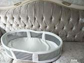 嬰兒床床中床bb新生兒便攜式小床可折疊睡籃多功能旅行寶寶床上床YYS      易家樂