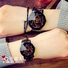 簡約女中學生時尚潮流男士鋼帶防水石英情侶手錶 全店88折特惠