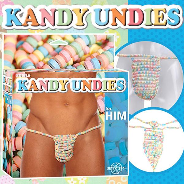 969情趣~美國原裝進口PIPEDREAM.EDIBLE KANDY UNDIES糖果丁字褲-for HIM(男用)