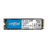美光 Micron Crucial P2 500GB M.2 2280 PCIe SSD固態硬碟