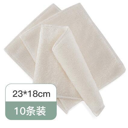 廚房抹布 出口日本竹纖維油利除不粘油洗碗布吸水不易掉毛去油抹布廚房【快速出貨八折搶購】