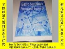 二手書博民逛書店Basic罕見Statistics for Educational Research: Second Editio