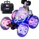 翻滾特技車遙控車翻斗車充電無線遙控汽車越野賽車兒童玩具車男孩 可可鞋櫃