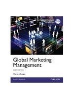 二手書博民逛書店《Global Marketing Management(8版)
