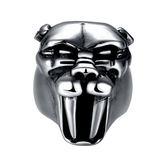 鈦鋼戒指 美洲豹-霸氣復古搖滾龐克生日聖誕節禮物男飾品73le180[時尚巴黎]