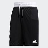 Adidas SPT 3S SHORT 男款黑色運動短褲-NO.DX6656
