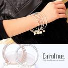 《Caroline》★韓風優雅時尚品味典雅設計手鍊68829