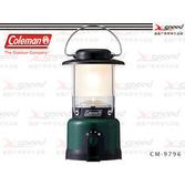 【速捷戶外露營】【美國Coleman燈具】CPX6 LED露營燈/復古版桌燈/氣氛燈/帳篷吊燈 CM-9796 (綠)