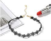 女鎖骨鏈短款簡約個性脖子飾品頸帶黑繩頸鏈 東京衣櫃