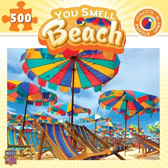 [KANGA GAMES]拼圖 海灘 You Smell - Beach 500片