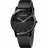 Calvin Klein CK City 都會系列手錶-黑/43mm K2G2G4C1