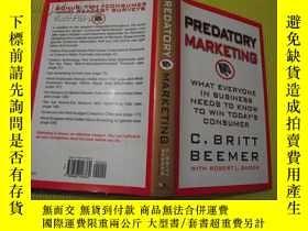 二手書博民逛書店外文原版:PREDATORY罕見MARKETING 翻譯:掠奪性