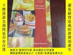 二手書博民逛書店FAST罕見FOOD COMPANION 快餐的同伴Y20470 Weight Watchers Weight
