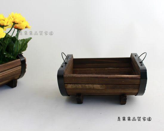 【木質小花槽】青果果光觸媒花專賣