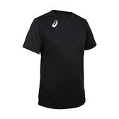 ASICS 男排羽球短袖T恤(免運 排球 羽毛球 運動 吸濕排汗 上衣 亞瑟士≡排汗專家≡