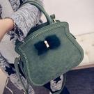 手提包-可愛優雅蝴蝶結裝飾肩背女貝殼包4色72an8【巴黎精品】