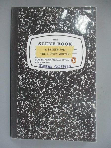 【書寶二手書T4/原文小說_IOH】The Scene Book: A Primer for the Fiction W