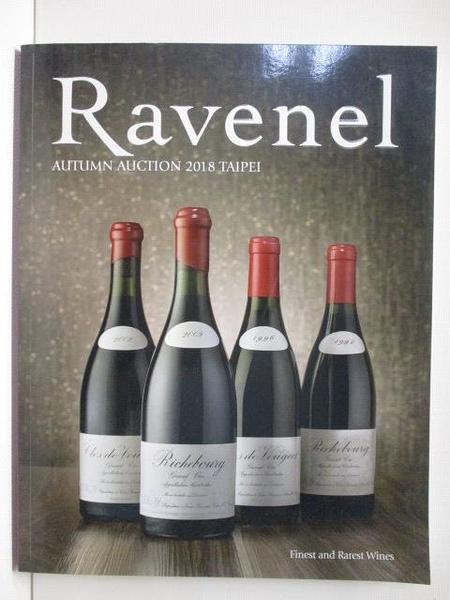 【書寶二手書T1/收藏_JRX】Ravenel Autumn Auction 2018 Taipei Finest and…2018/11/30