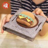 美食吃貨文具韓國日本日記手記本辦公筆記本子活頁 手帳  麥琪精品屋