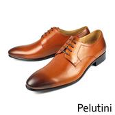 【Pelutini】經典時尚德比紳士鞋 咖啡色(9123-BR)