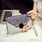 大容量信封手包斜背小包包韓版個性時尚百搭氣質手拿包女 韓語空間