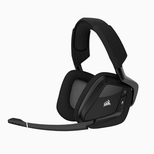Corsair 海盜船 VOID PRO RGB 無線SE高級遊戲耳機 黑色