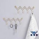 鑰匙掛鉤壁掛衣架收納進北歐創意玄關墻上墻面置物架【古怪舍】
