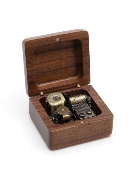 木質音樂盒定制八音盒